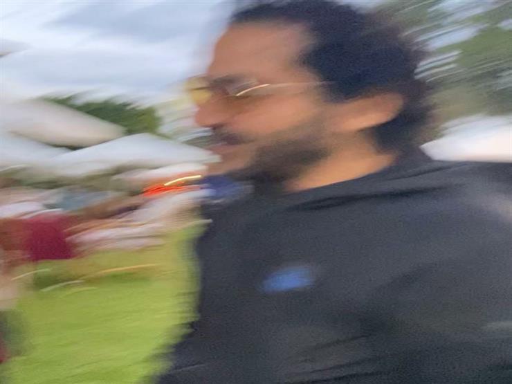 أحمد حلمي موقف طريف مع منى زكي 2