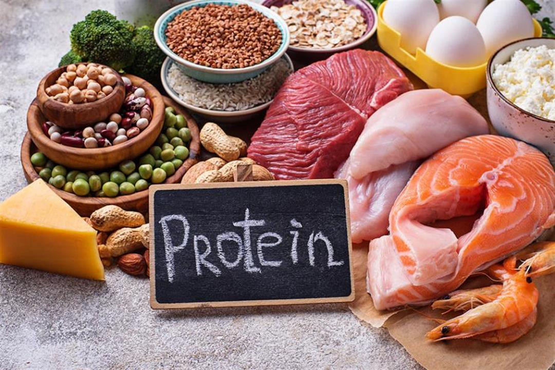 تناول البروتين