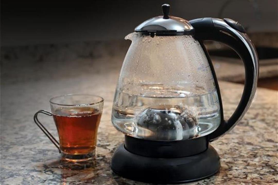 غلي الشاي