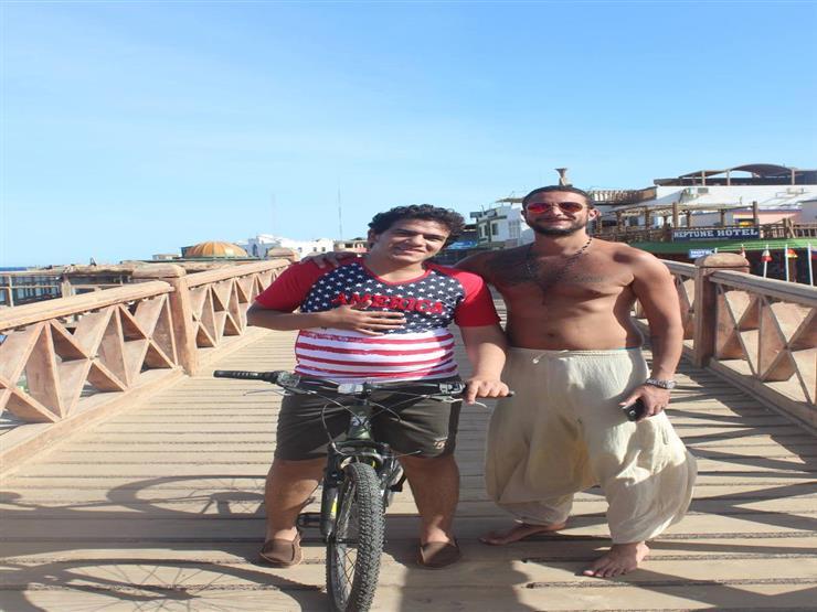 مينا فوزي وأحمد الفيشاوي كواليس 30 مارس
