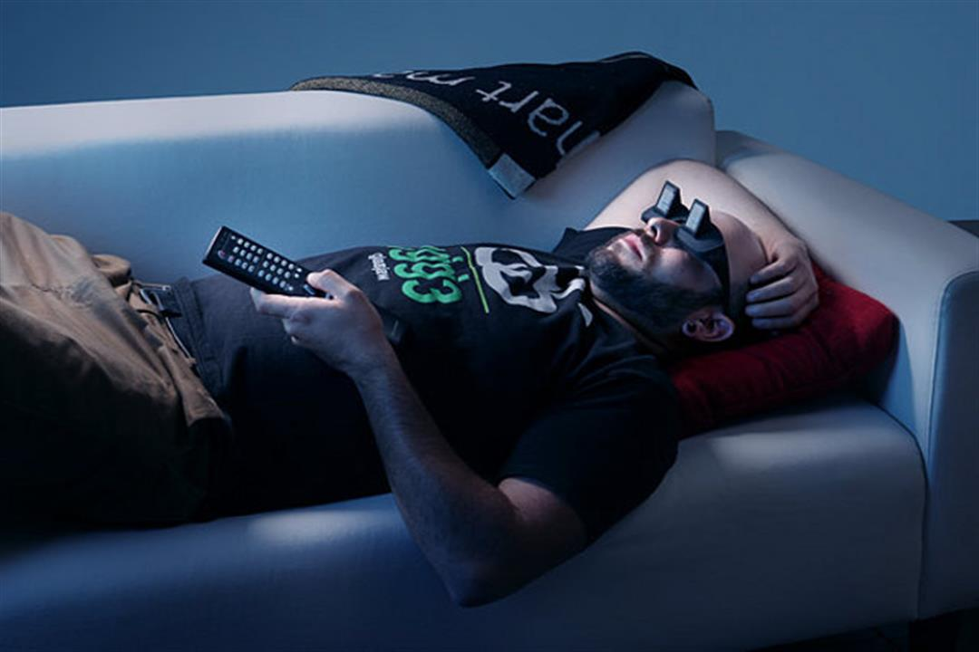 الاستلقاء على الأريكية