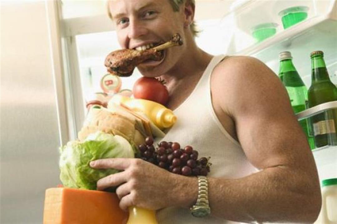 الإفراط في الطعام