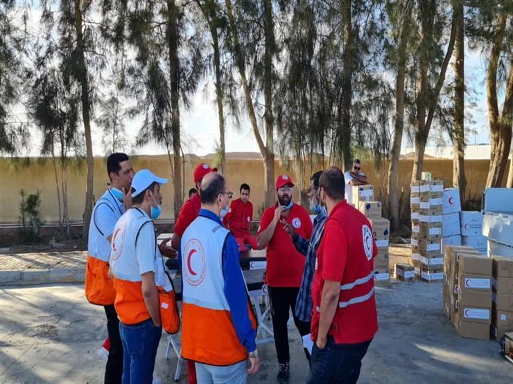 تسليم دفعة من المساعدات المطلوبة للشعب الفلسطيني