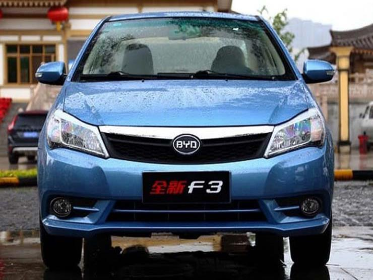 بي واي دي F3 ، أرخص 5 سيارات جديدة - تعرف على قائمة أرخص 5 سيارات جديدة في مصر