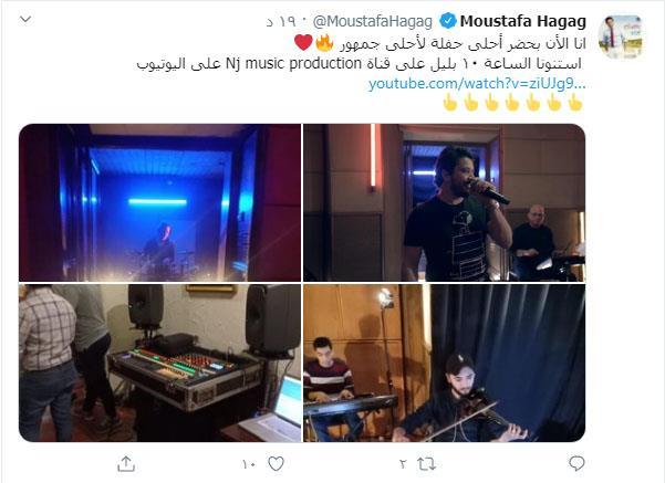 مصطفى حجاج عبر تويتر
