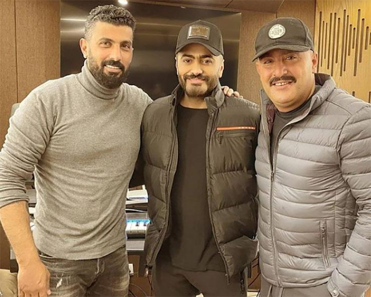 أحمد السقا وتامر حسني ومحمد سامي