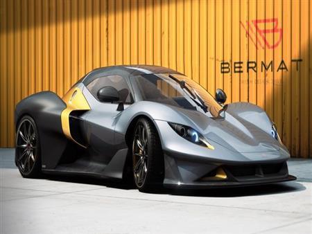 """""""بيرمات"""" الإيطالية تكشف النقاب عن سيارتها GT الرياضية بقوة 400 حصان.. صور"""