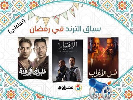 """""""نسل الأغراب وملوك الجدعنة والاختيار 2"""".. ما هي المسلسلات الأكثر بحثُا على جوجل رمضان؟ (تفاعلي)"""