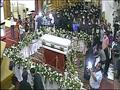 بالصور.. صلاة التجنيز على الأنبا هدرا بكاتدرائية أسوان