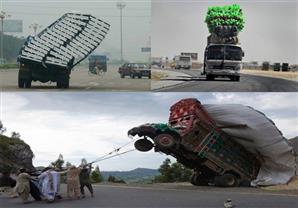 بالصور.. أغرب وسائل النقل