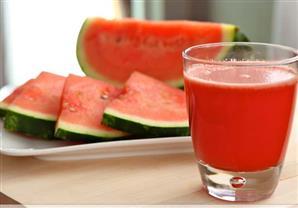فوائد عصير البطيخ الطبية فى رمضان