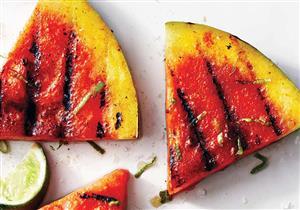 مثلثات البطيخ المشوي.. مقبلات رمضانية تساعد على التخسيس