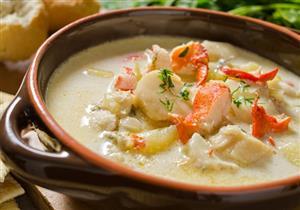 شوربة السي فود وجبة مثالية للشتاء.. إليك فوائدها وطريقة تحضيرها