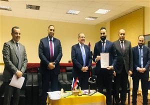 السفارة المصرية بموسكو تكرم طبيبًا تقديرًا لجهوده