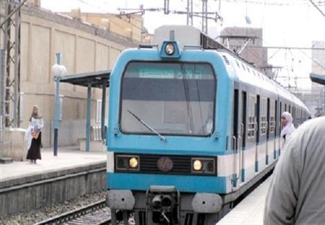توقف حركة القطارات في الخط الأول لمترو الأنفاق لعطل فني