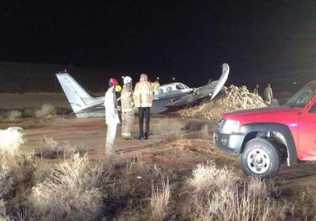 مسؤول بالطيران المدني يوضح حقيقة تحطم طائرة  بمطار الرياض