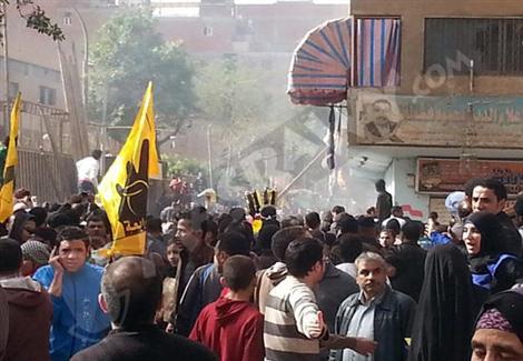 المطرية.. من هنا تخرج تظاهرات الجماعة