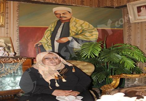 مصراوي مع حفيدة ''شيخ المقرئين'''': هنا ''رفعت'' حي يرزق
