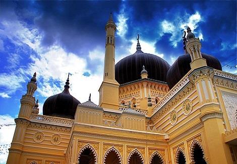 بالصور .. مسجد زاهر.. تحفة إسلامية في ماليزيا