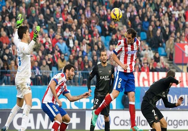 أهداف مباراة  (اتلتيكو مدريد 3 - ليفانتي 1 ) في الدوري الإسباني