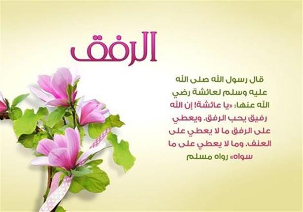 الرفق في حياة النبي صلى الله عليه وسلم مصراوى