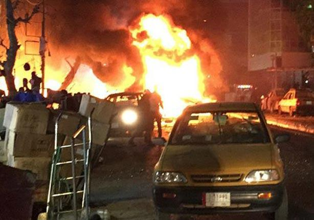 قتلى وعشرات الجرحى في انفجار سيارة مفخخة في الكرادة وسط بغداد