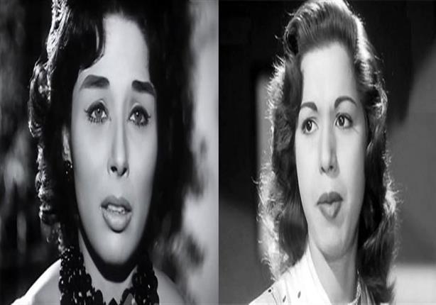 صور نادرة لسامية جمال ولبني عبدالعزيز مع خروف العيد