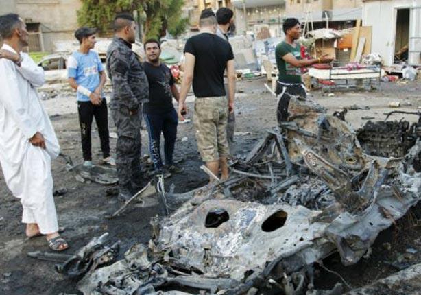 مقتل 4 أشخاص وإصابة 11 آخرين في انفجار سيارة مفخخة ببغداد