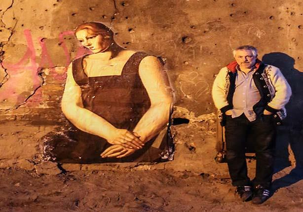 بالصور.. فنان فرنسي يلف العالم بفنون الشارع (حوار)