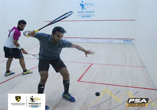 اليوم- 18 مصريا يبدأون المرحلة النهائية من بطولة العالم للاسكواش