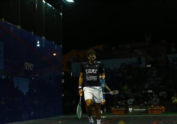 كريم عبد الجواد يتأهل لنصف نهائي بطولة العالم للإسكواش