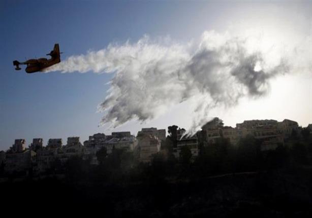 إسرائيل تقبض على 12 شخصا يشتبه بتورطهم في حرائق الغابات الهائلة