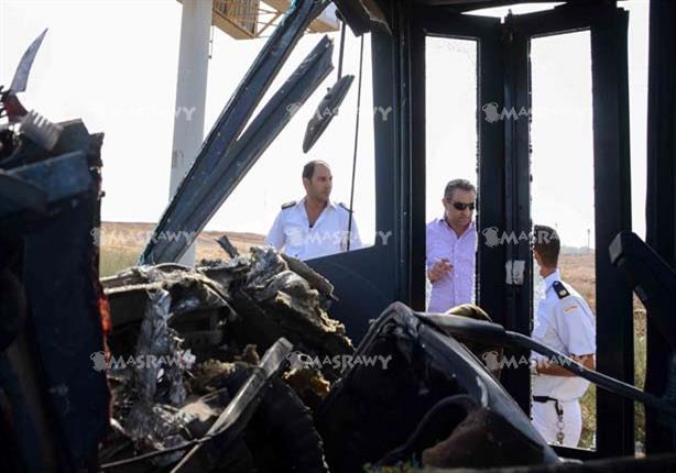 إصابة 8 طلاب في انقلاب أتوبيس مدرسة بالإسكندرية