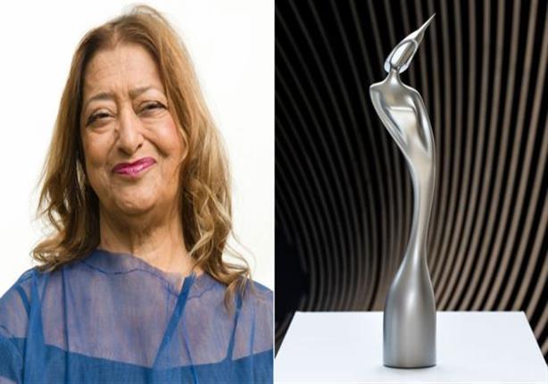 """جوائز مسابقة """"بريت"""" الموسيقية البريطانية من تصميم المعمارية العراقية زهاء حديد"""