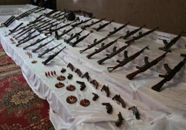 أمن الجيزة يوقع 37 تاجر مخدرات ويضبط 10 قطع سلاح