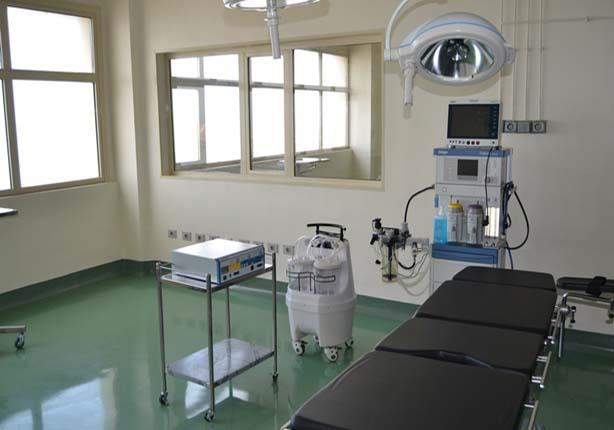 افتتاح المرحلة الأولى من جناح العمليات بمستشفى الدمرداش