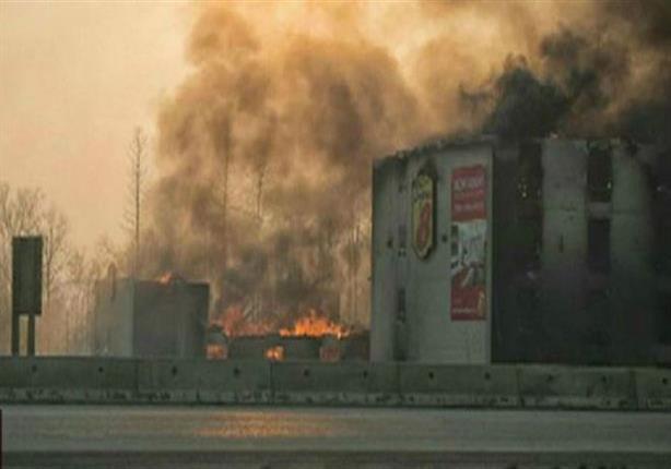 كندا: إعلان الطوارئ في البرتا بعد إخلاء مدينة بالكامل بسبب الحرائق