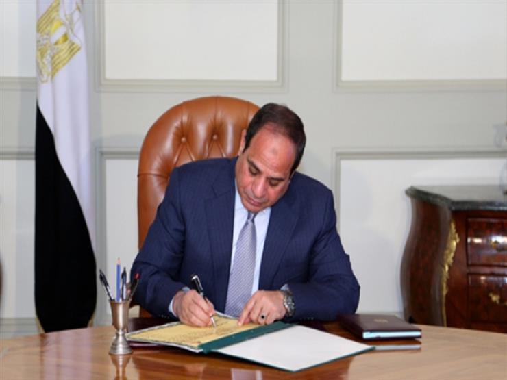 الرئيس السيسي يصدر قرارات جمهورية جديدة