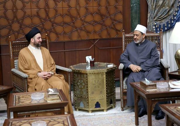 الطيب لرئيس التحالف العراقي: الأزهر مظلة السنة والشيعة