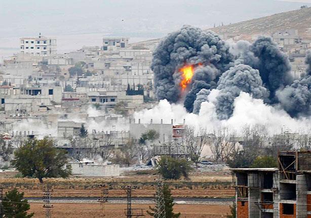 سوريا: قصف على أنحاء متفرقة.. واستمرار الغارات على داعش في الرقة