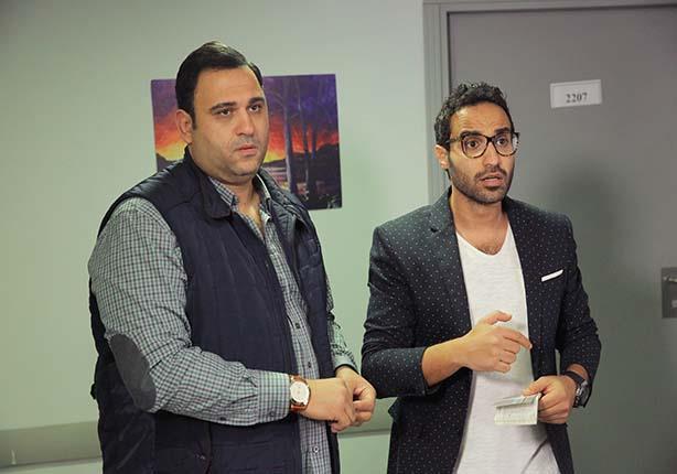 """متابعو """"ريّح المدام"""": أحمد فهمي وأكرم حسني ضحك مستمر و""""دويتو"""" عالمي"""