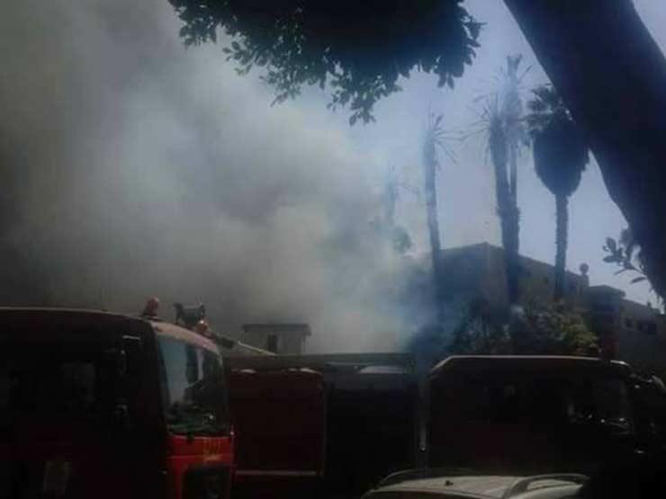 دون خسائر بشرية.. الحماية المدنية تنجح في السيطرة على حريق بموقف أحمد حلمي