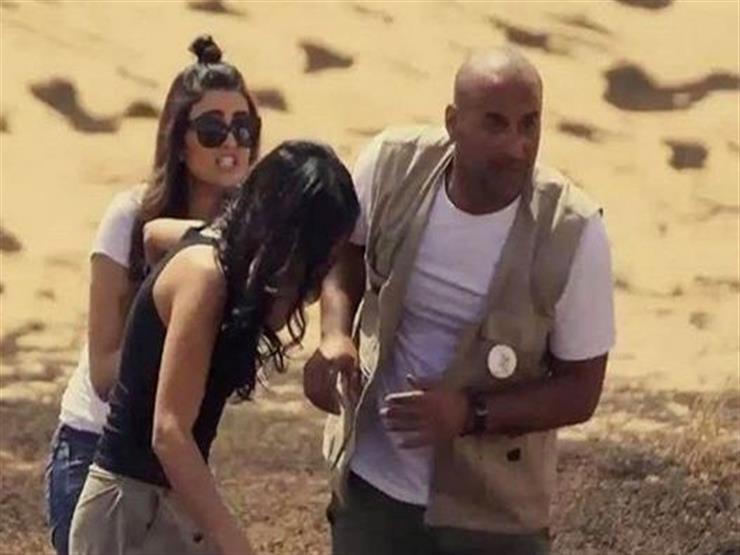 "صراخ مذيعة mbc  مع رامز جلال في ""رامز تحت الأرض"""