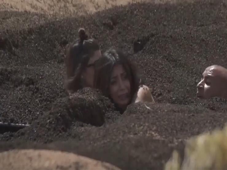 """كيف واجهت علا الفارس """"سحلية"""" رامز تحت الأرض - فيديو"""