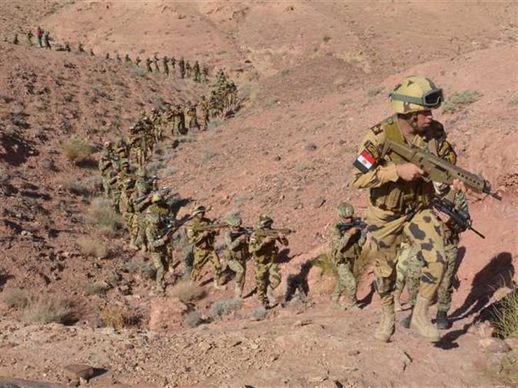 """بدء تدريبات """"النجم الساطع"""" المصري- الأمريكي بقاعدة محمد نجيب العسكرية"""