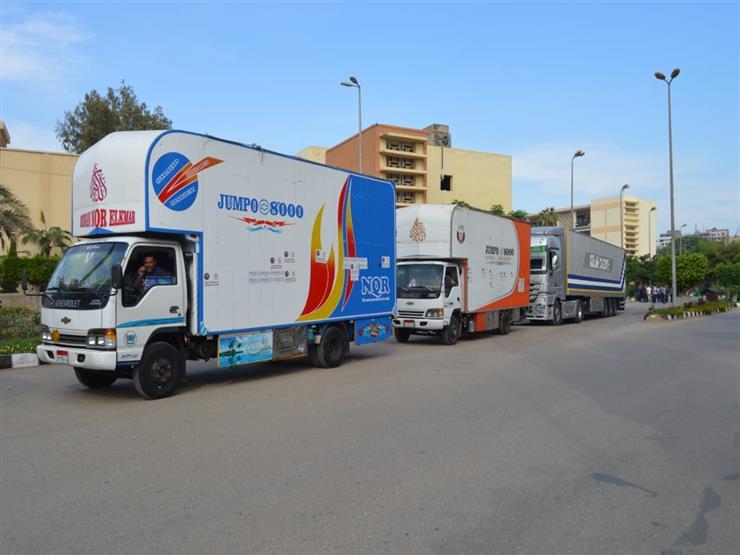 """رئيس """"جامعة المنصورة"""": توجيه قافلة """"جسور الخير 11"""" لدعم حلايب وشلاتين"""