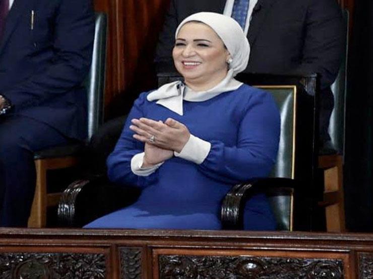 """قرينة الرئيس عن الشباب المصري: """"بقى يعمل كل حاجة دلوقتي"""""""