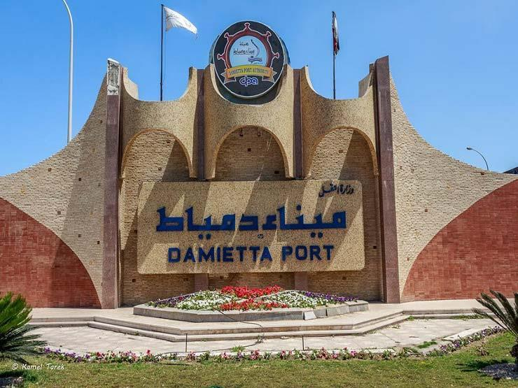 25 سفينة إجمالي حركة التداول في ميناء دمياط
