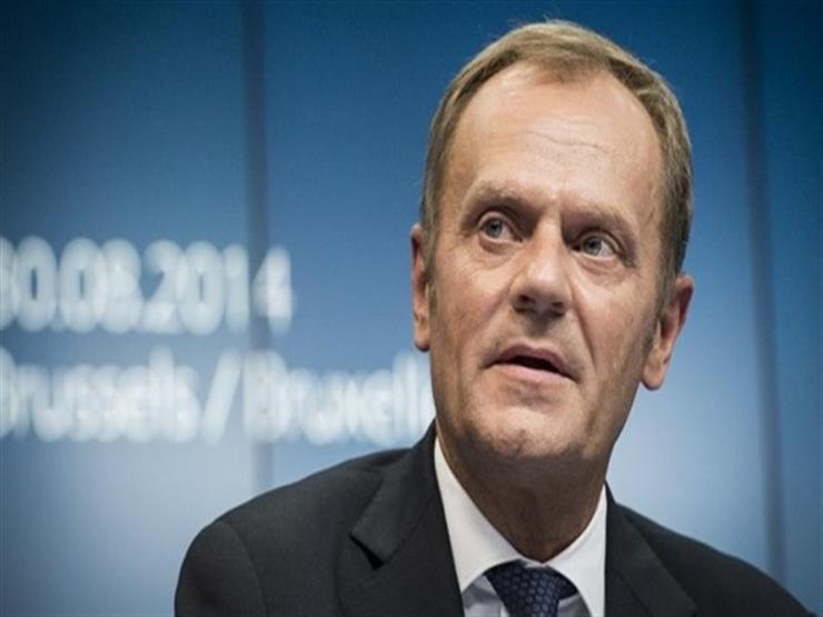 توسك يوصي زعماء الاتحاد الأوروبي بتمديد مهلة خروج بريطانيا