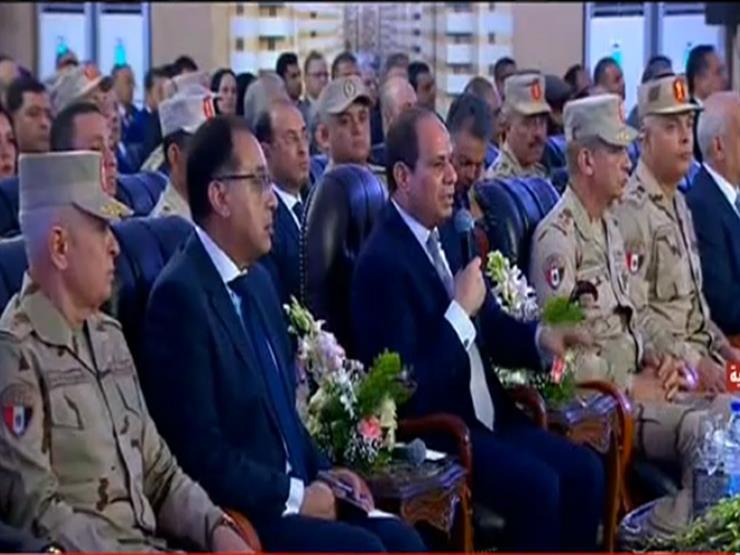 السيسي لمحافظ الإسكندرية: قولي دخلك كام؟